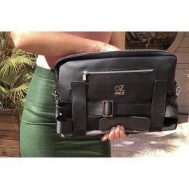 Ozpack Traveler Siyah Büyük Laptop Çantası