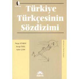 Türkiye Türkçesinin Sözdizimi