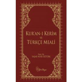 Kuran-ı Kerim Küçük Metinli Kırmızı - Türkçe Meali