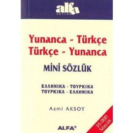 Yunanca-Tükçe Türkçe-Yunanca Mini Sözlük
