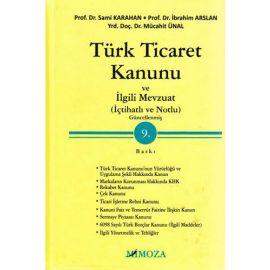 Türk Ticaret Kanunu ve İlgili Mevzuat (Ciltli)