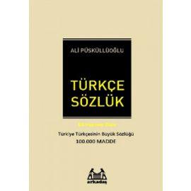 Türkçe Sözlük (100.000 Madde) Ciltli