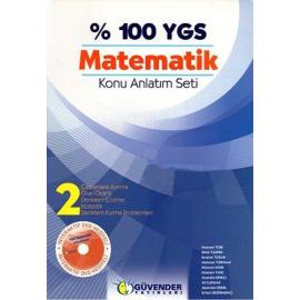% 100 YGS Matematik Konu Anlatım Seti (3 Kitap)