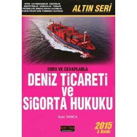 Deniz Ticareti ve Sigorta Hukuku