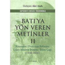 Batı'ya Yön Veren Metinler II