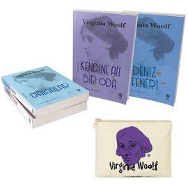 Virginia Woolf Seti - 4 Kitap Takım (Mor Desenli Cüzdan Hediyeli)