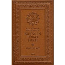 Nüzul Sırasına Göre Necm Necm Kur'an'ın Türkçe Meali (Büyük Boy)
