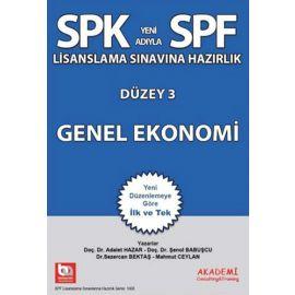 SPK Yeni Adıyla SPF Lisanslama Sınavına Hazırlık Düzey 3 - Genel Ekonomi