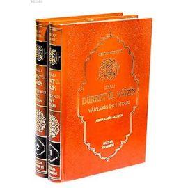 Duâlı Dürretül Vâizîn (2 Cilt); Vaizlerin İnci Kitabı