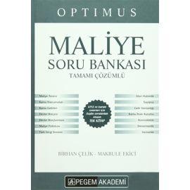 Optimus Maliye Soru Bankası Tamamı Çözümlü