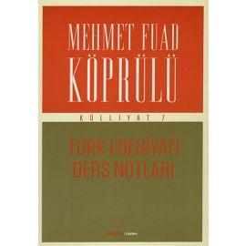 Mehmet Fuad Köprülü Külliyat 7