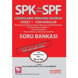SPK Yeni Adıyla SPF Lisanslama Sınavına Hazırlık - Soru Bankası