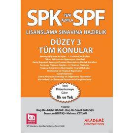 SPK Yeni Adıyla SPF Lisanslama Sınavına Hazırlık - Düzey 3 Tüm Konular