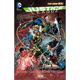 Justice League Cilt 3 - Atlantis Tahtı