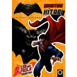 Batman v Superman - Çıkartma Kitabı