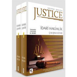Justice İdari Hakimlik Çalışma Kitabı 2 Cilt
