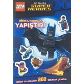 Lego Dc Comics Super Heroes - Dikkat, Hazırlan, Yapıştır!