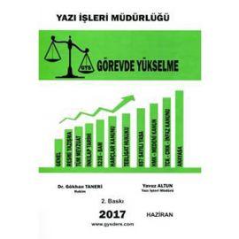 Yazı İşleri Müdürlüğü Görevde Yükselme 2017