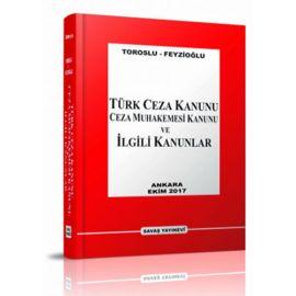 Türk Ceza Kanunu - Ceza Muhakemesi Kanunu ve İlgili Kanunlar (Ciltli)