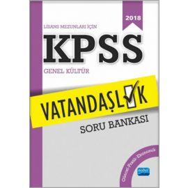 2018 KPSS Lisans Mezunları İçin Vatandaşlık Soru Bankası