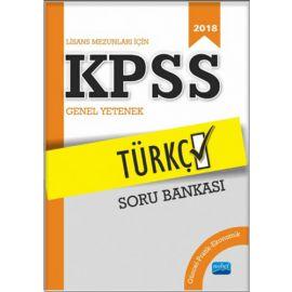 2018 KPSS Lisans Mezunları İçin Türkçe Soru Bankası
