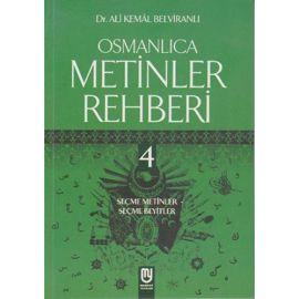 Osmanlıca Metinler Rehberi 4