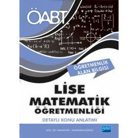 ÖABT Lise Matematik Öğretmenliği