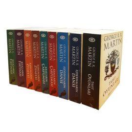 Game Of Thrones - Taht Oyunları (9 Kitap Set Özel Kutulu)