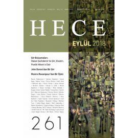 Hece Aylık Edebiyat Dergisi Sayı: 261