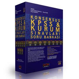 Konsensus KPSS Kurum Sınavları Hukuk Soru Bankası