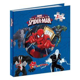 Marvel Ultimate Spider-Man - İlk Yapboz Kitabım (Ciltli)
