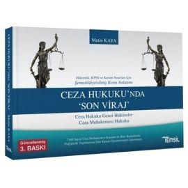 Ceza Hukuku'nda Son Viraj (Hakimlik, KPSS ve Kurum Sınavları İçin)