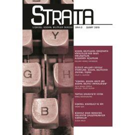 Strata İlişkisel Sosyal Bilimler Dergisi Sayı: 0 Şubat 2019