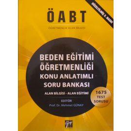 ÖABT Beden Eğitimi Öğretmenliği Konu Anlatımlı Soru Bankası