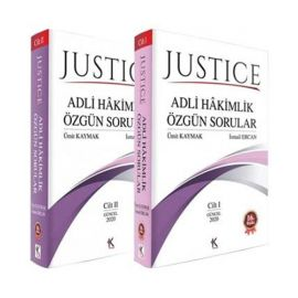 Justice Adli Hakimlik Özgün Sorular (2 Cilt Takım)