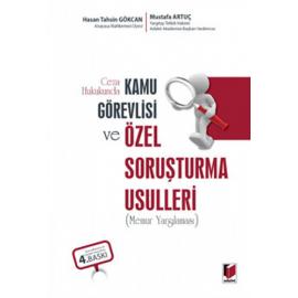 Ceza Hukukunda Kamu Görevlisi ve Özel Soruşturma Usulleri (Ciltli)