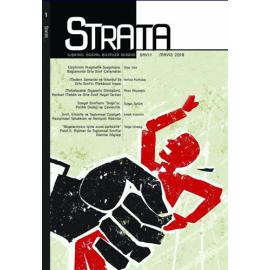 Strata - İlişkisel Sosyal Bilimler Dergisi Sayı 1