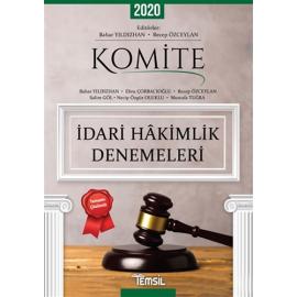 2020 Komite İdari Hakimlik Denemeleri Tamamı Çözümlü 5 Deneme