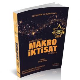 BEST OF Makro İktisat Tamamı Çözümlü Soru Bankası 2020