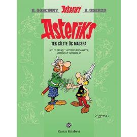 Asteriks (Tek Ciltte Üç Macera) Ciltli