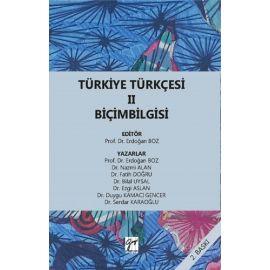 Türkiye Türkçesi II - Biçimbilgisi