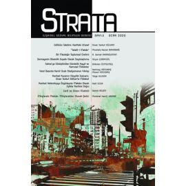 Strata: İlişkisel Sosyal Bilimler Dergisi Sayı: 3