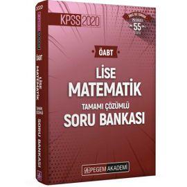 2020 KPSS ÖABT Lise Matematik Tamamı Çözümlü Soru Bankası