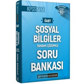 2020 KPSS ÖABT Sosyal Bilgiler Tamamı Çözümlü Soru Bankası