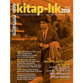 Kitap-lık Dergisi Sayı 208
