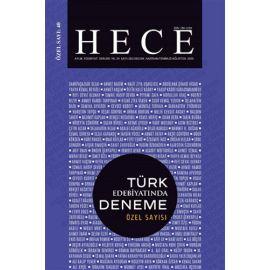 Hece Aylık Edebiyat Dergisi Özel Sayı: 40 - Türk Edebiyatında Deneme