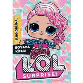 Lol Surprise Snow Leopard Boyama Kitabı