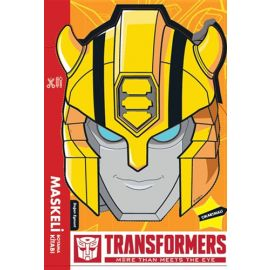 Transformers - Maskeli Boyama Kitabı