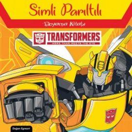 Transformers  - Simli Parıltılı Boyama Kitabı