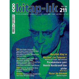 Kitap-lık Dergisi Sayı: 211
